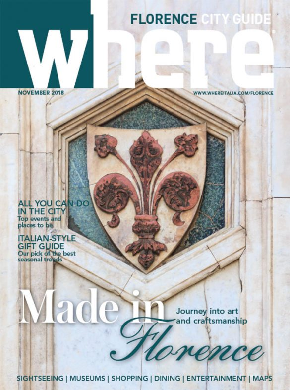 Cover Where Florence 6 November 2018