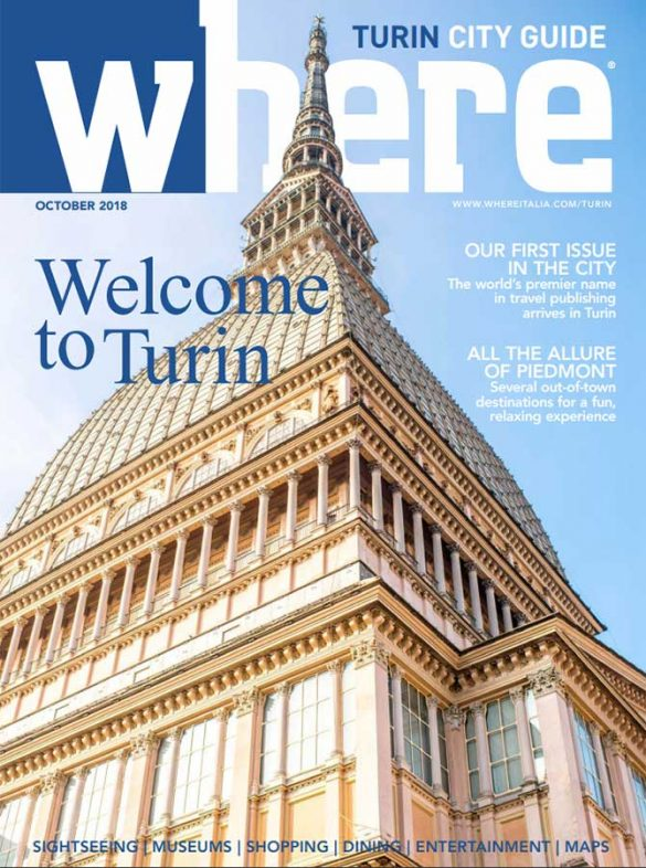 WHERE TURIN NR.1 OCTOBER 2018