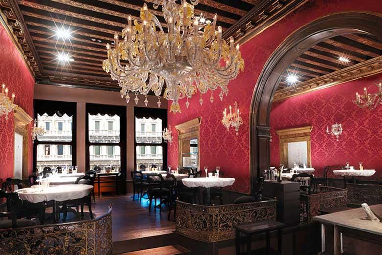 Inside the Gran Café Quadri