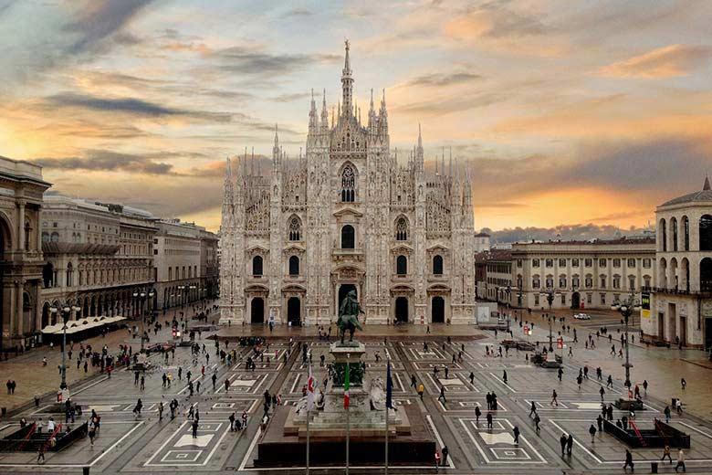 Milan City Centre Where Italia