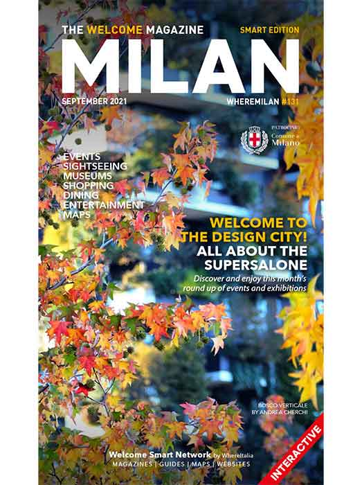 The Welcome Magazine Milan September 2021