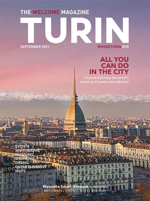 Turin Welcome magazine September 2021
