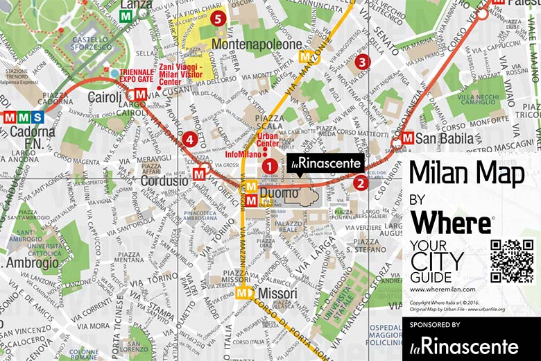 Milan Map Of Italy.Milan Italy Free City Map And Underground Map Where Italia