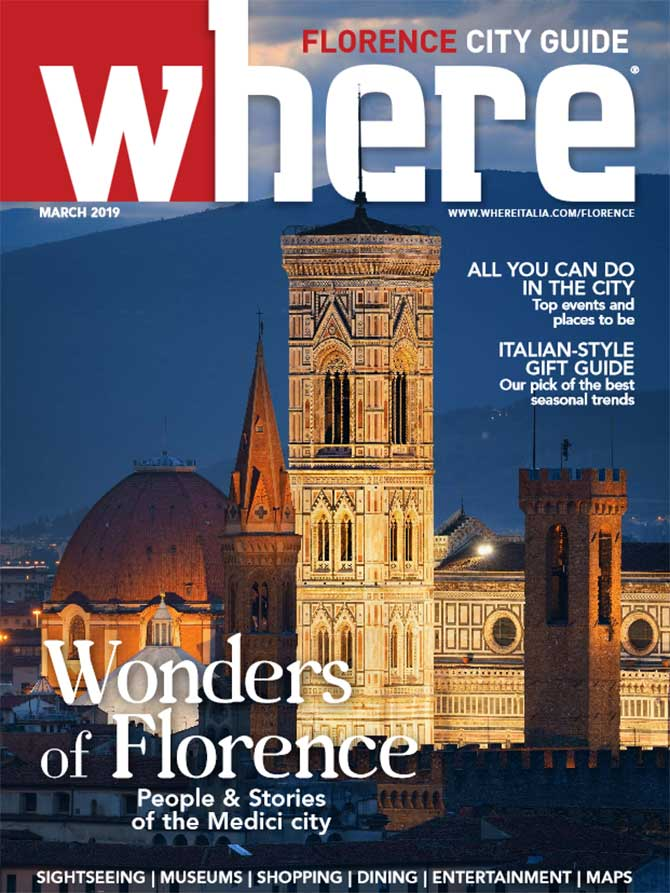 Cover Where Florence n 10 March 2019