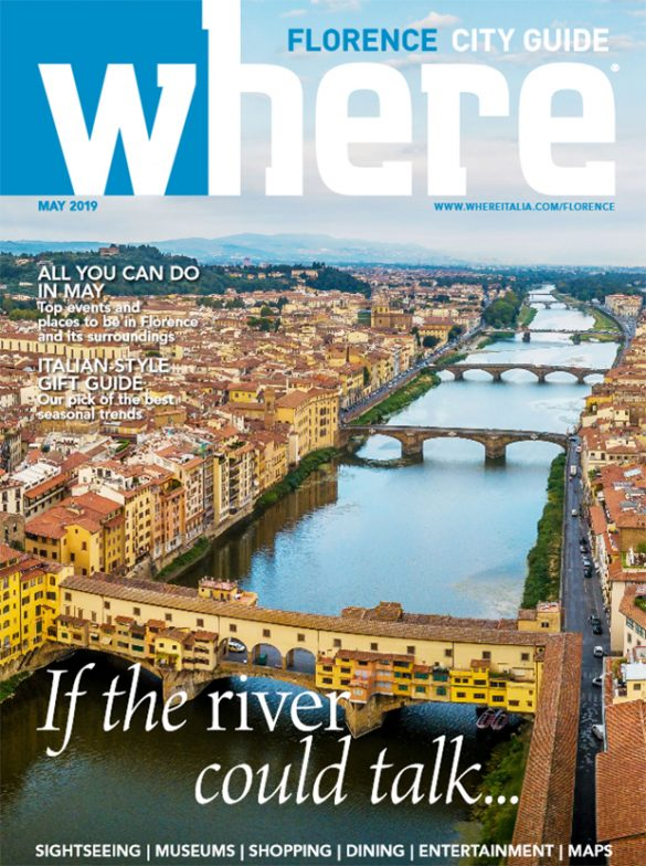 Cover Where Florence n 12 May 2019