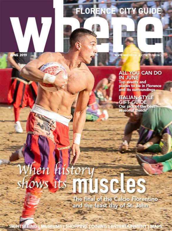 Cover Where Florence n 13 June 2019