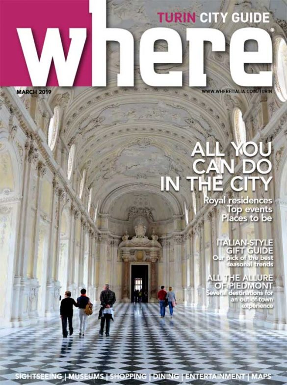 Cover Where Turin n 6 March 2019