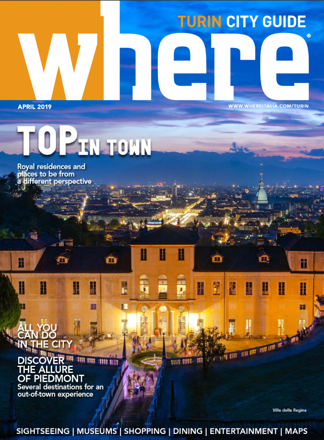 Cover Where Turin n 7 April 2019