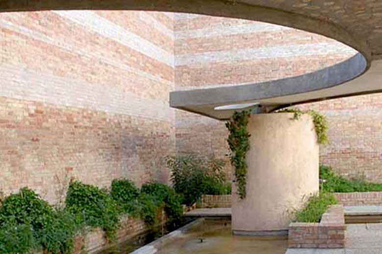 The Italian Pavilion at the Sculpture Garden