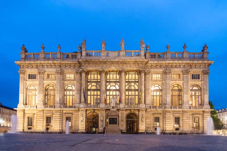 The facade of Palazzo Madama (credits Shutterstock)