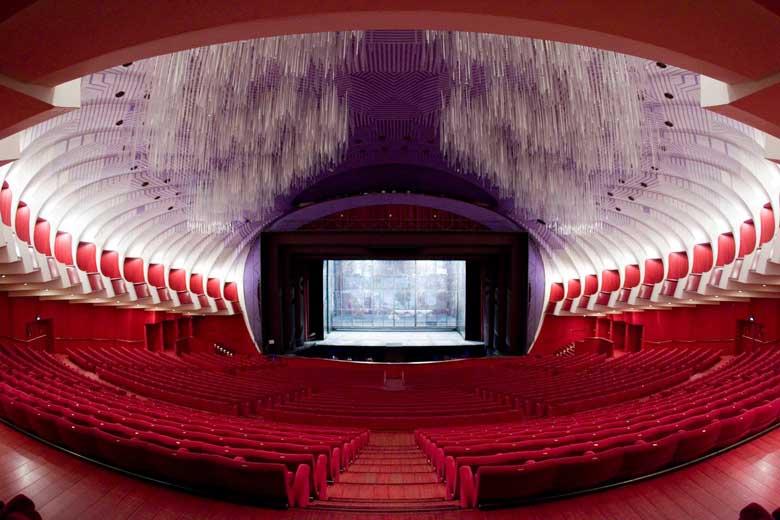 Inside the Teatro Regio